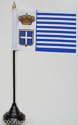 Italy Seborga 'Principality' Polyester Table Desk Flag