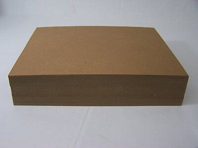 200  8.5 x 11 Cardboard Sheets to Stiffen Envelopes Chipboard Pads Photos Shirt