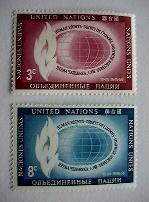 1956 Human Rights MNH Stamps from United Nations (New York)