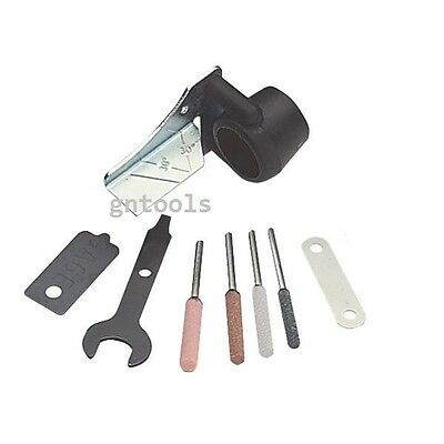 GN3131 Chain Saw Sharpening Sharpener File Kit Attachment Fits Mini Rotary Drill