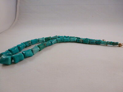 NAVAJO Hand made Turquoise NECKLACE N Garcia  # ngg106131