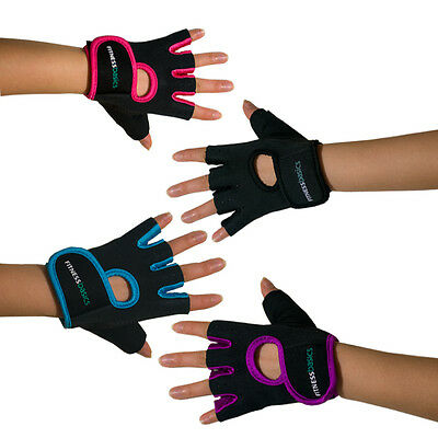 Brand New Fitness Jazz Gym Gloves Cycling Weight Lifting Mittens Ladies 4 Colors