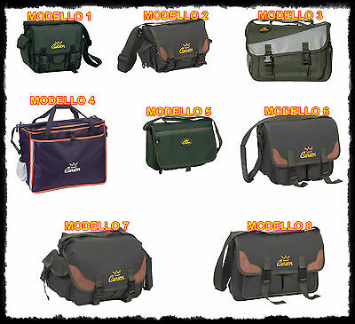 borsa pesca impermeabile accessori artificiali spinning carpfishing surfcasting