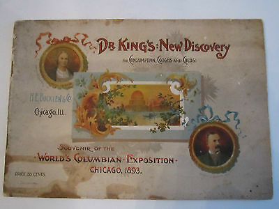 1893 World's Columbian Exposition Souvenir - Chicago - Booklet - Nice - Tub Eee