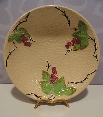 """Bramble Berry Bowl by Wade England Large 9-3/8"""" Excellent"""
