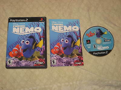 Finding Nemo  (Sony PlayStation 2, 2003)  Free USA shipping.