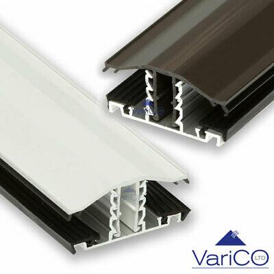 Snap-Down Glazing Bar For Use With 10mm/16mm/25mm Polycarbonate Roofing Sheet