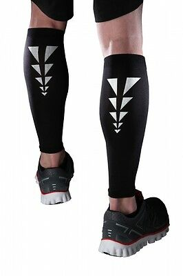 Cramer ESS Reflective Calf Compression Support Sleeves - 1 Pair