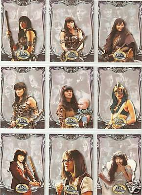 Xena Beauty and Brawn complete 72-card base set Rittenhouse