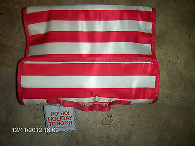 NEW Bath & Body Works  Holiday Travel/Gift Bag with Discontinued PINK SUGAR PLUM