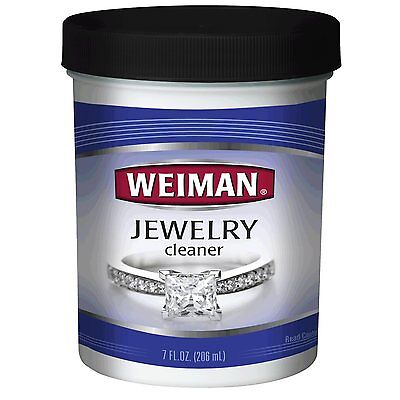 Weiman Jewelry Cleaner with Brush - 7oz