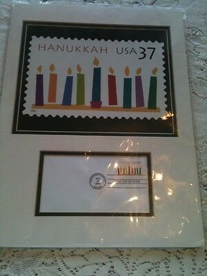 USPS MINT JUDAICA ART CHANUKAH USA 37 Cent Stamp Issue Oct 10 2002 RARE SEALED