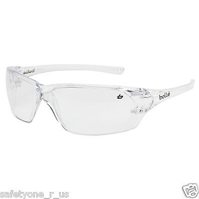 2x pairs of Bolle Safety Glasses - Prism - Clear Lens