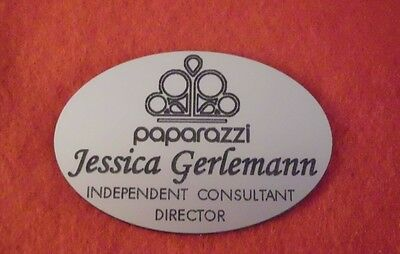 paparazzi Accessories  CONSULTANT NAME BADGE YOUR COLOR CHOICE PERSONALIZE