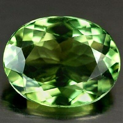 1.36 CT ~ Green Apatite Oval ~ Natural Gemstone