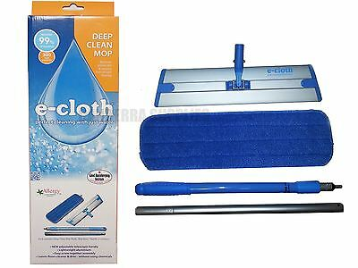 E-Cloth Deep Clean Mop With Telescopic Handle - Removes Over 99% Bacteria