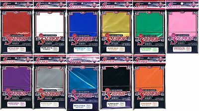 PICK COLOR  80 ct KMC SUPER SERIES Standard Card Barrier Sleeves Protector SUPER