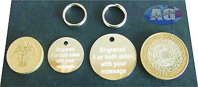 Engraved pet tag. Pet tags with split ring