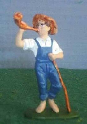 TOY SOLDIERS METAL NURSRY RYM BOY BLUE BLOWING HIS HORN 54MM