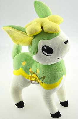 "New 11.5"" Green Deerling Pokemon Cute Soft Plush Toy Doll/PC2202"