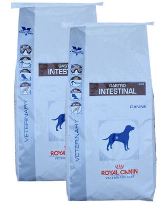 2x14kg Royal Canin  Veterinary Diet GI 25 Gastro Intestinal