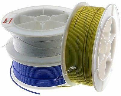 2 metres 16AWG Silicone Wire. Super flexible high temp RED/BLACK/BLUE/YELLOW