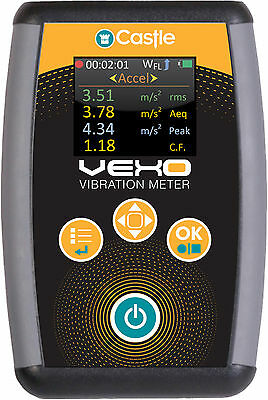 Castle GA2006S Vexo Professional Single Axis Machine Monitoring Vibration Meter