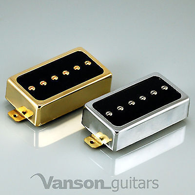 NEW Vanson AlNiCo V P90, Humbucker size Single Coil Pickup, HB90 Neck or Bridge