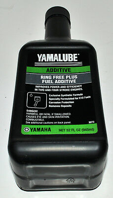 Yamalube Ring Free Fuel Additive 32 oz. Part# ACCRNGFRPL32