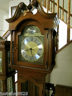 German Colonial of Zeeland Company Grandmother / Small Grandfather Clock