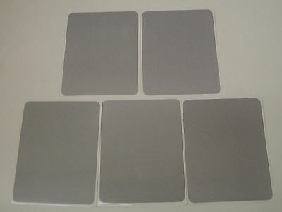 """Lot of 5 Cut-to-Fit Screen Repair Kit - Includes Five 6.25"""" x 5"""" Patches"""