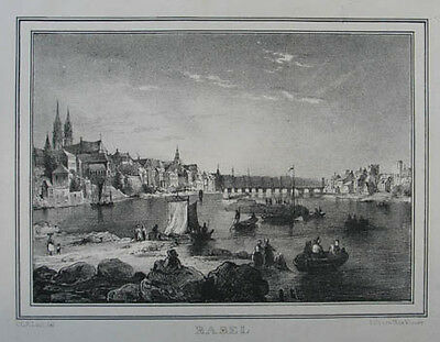 Basel Lithographie 1840