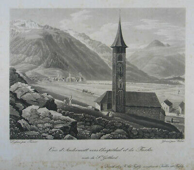 Andermatt Aquatinta 1830