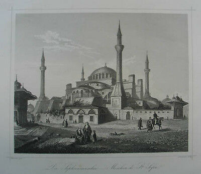Istanbul Stahlstich 1860