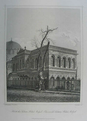 Istanbul Stahlstich  1858