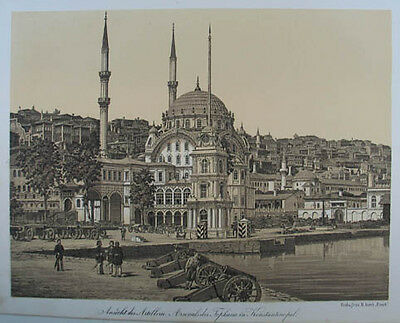 Istanbul Tonlithographie 1857