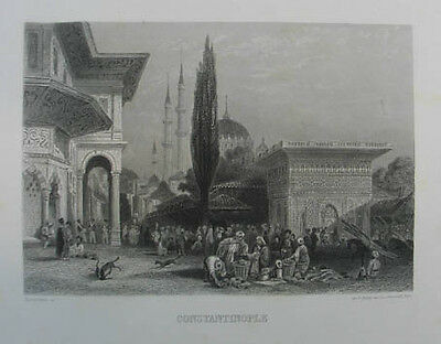 Istanbul Stahlstich 1875