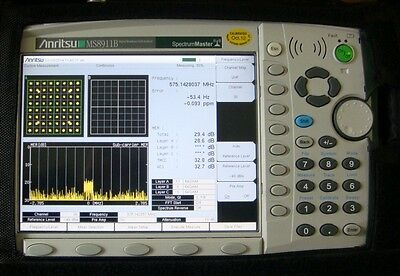 ANRITSU MS8911B DVB ISDB-T Digital Broadcast Field Analyzer