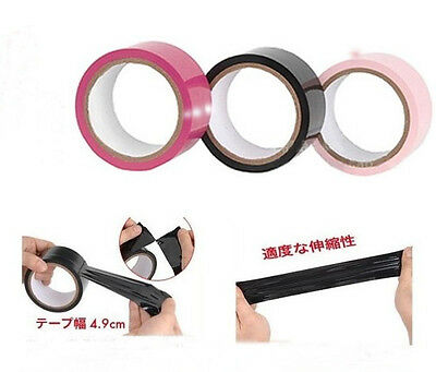 15 Metre 15M Funky Bondage/Fetish Tape Roll- Doesn't Pull Hair-No Sticky Residue