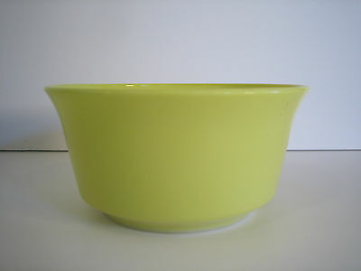 Hazel Atlas Chartreuse Green Modertone Small Individual Serving Bowl Tall Side