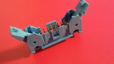 Tyco 16 Way Vertical Box Header With Latches Qty = 1