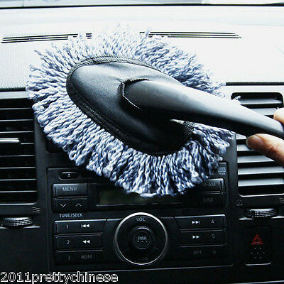 Car Care Microfiber Interior & Home Clean Microfibre Soft Noodle Duster Brush