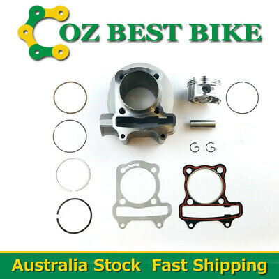 GY6 150cc Engine Cylinder Bore 57.4mm Piston Rings Head Gasket Scooter Moped ATV