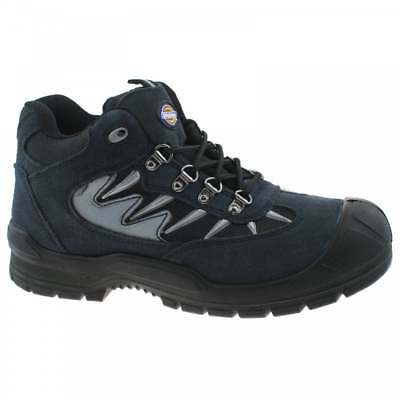 Dickies Storm Safety Work Boot Trainer Hiker Steel Toe Grey Black Size 5.5-12