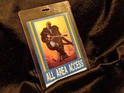Terry McBride & The Ride *Vintage Laminated All Access Concert Pass!