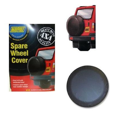 "4x4 HEAVY DUTY SPARE WHEEL COVER / ELASTICATED PROTECTION -SIZE 28"" 710MM JEEP"