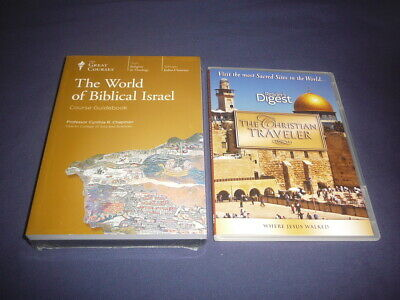 Teaching Co Great Courses DVDs        THE WORLD OF BIBLICAL ISRAEL   new + BONUS
