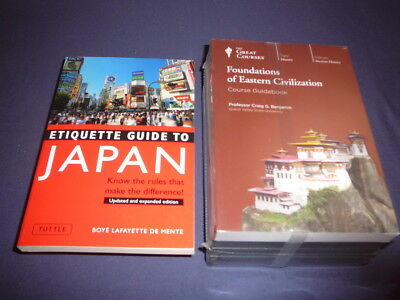Teaching Co Great Courses CDs     FOUNDATIONS of EASTERN CIVILIZATION    + bonus