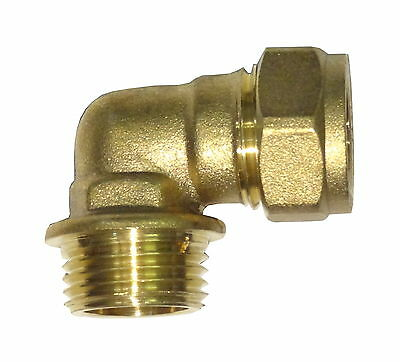 """15mm Compression x 1/2"""" BSP Male Elbow 