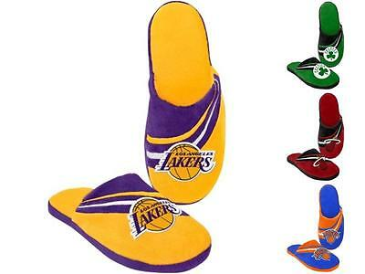 NBA Basketball 2013 Big Logo Team Slide Shoe Slipper - Pick Your Team!